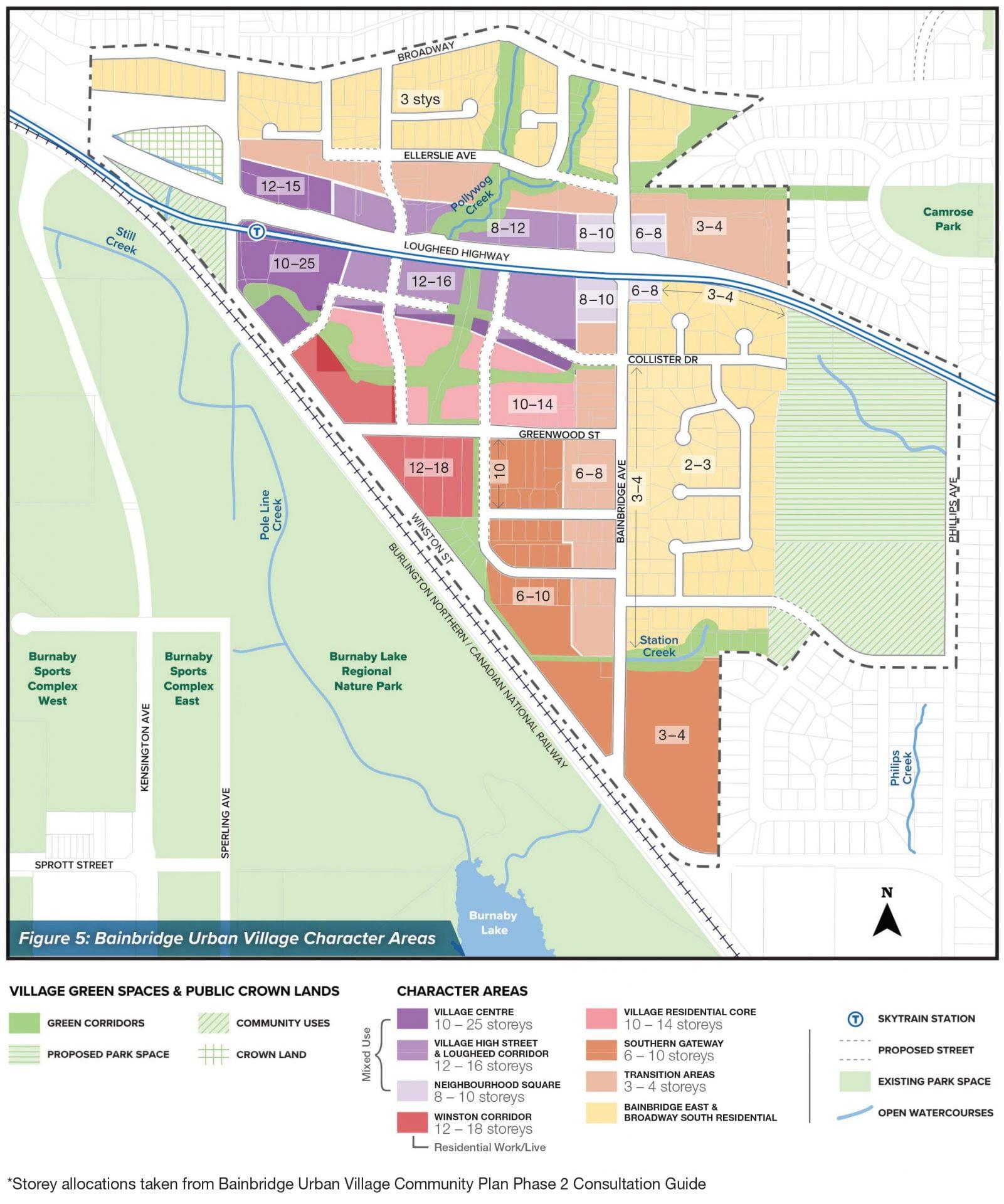 bainbridge phase 2 map labelled
